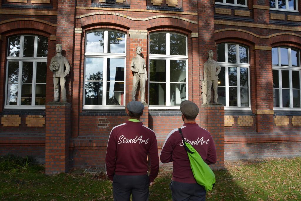 7 StandArt vor Heimatmuseum
